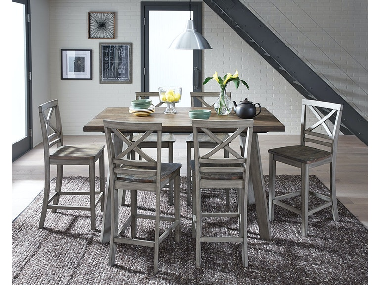 Standard Furniture Leg Table And 4 Chairs 12862