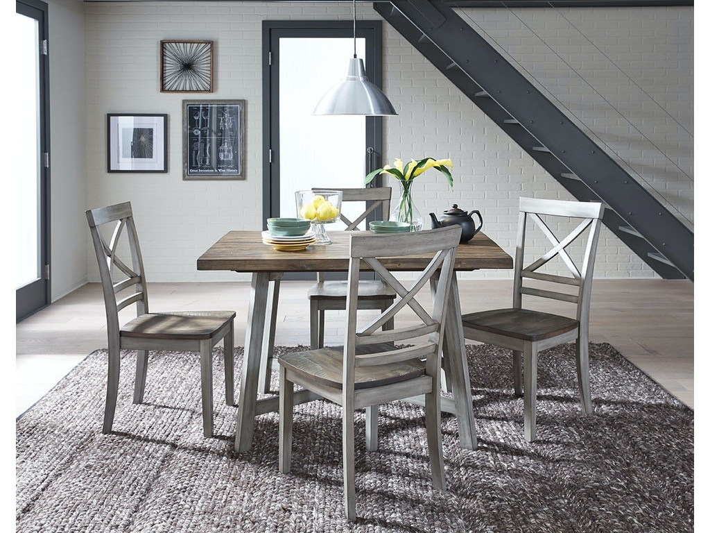 Standard Furniture Dining Room Counter Height Table And 4