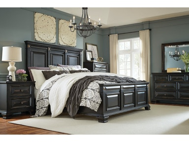 Standard Furniture Panel Headboard 6 86911 King Bed