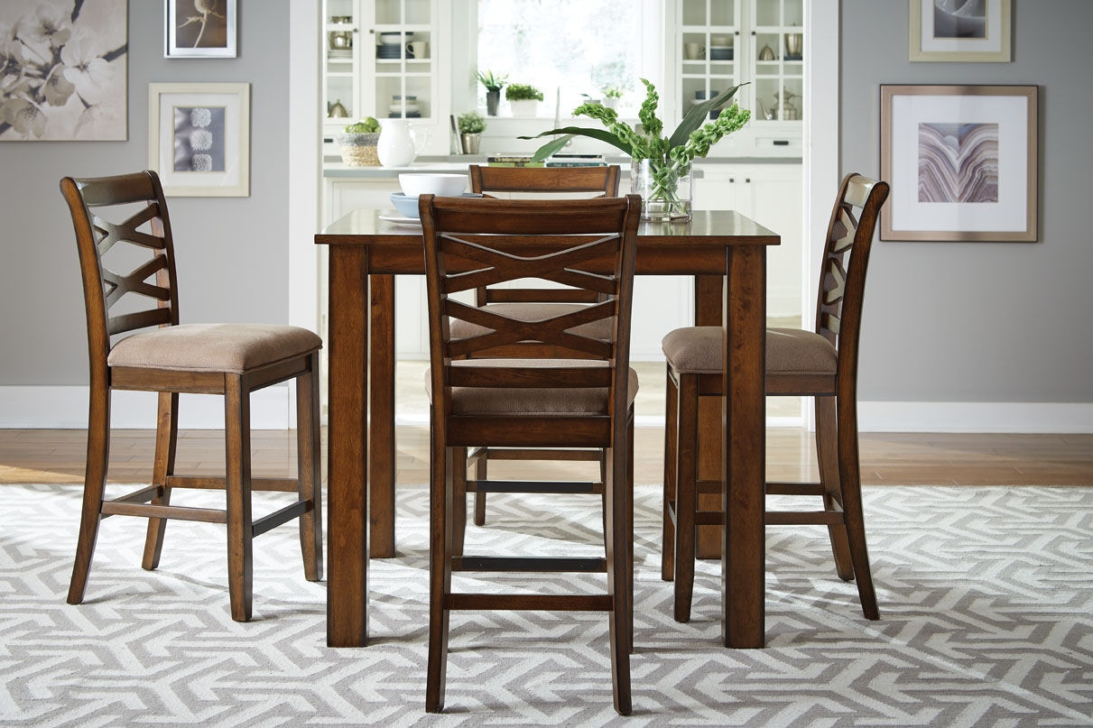 Standard Furniture Counter Height Table With 4 Chairs 11223