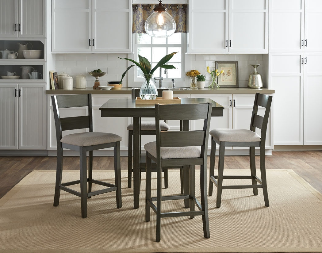 standard furniture counter height table with 4 chairs - Counter Height Chairs
