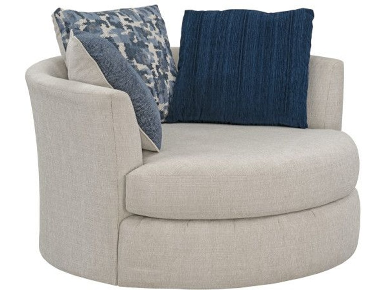 Standard Furniture Living Room Romano Upholstered Swivel ...