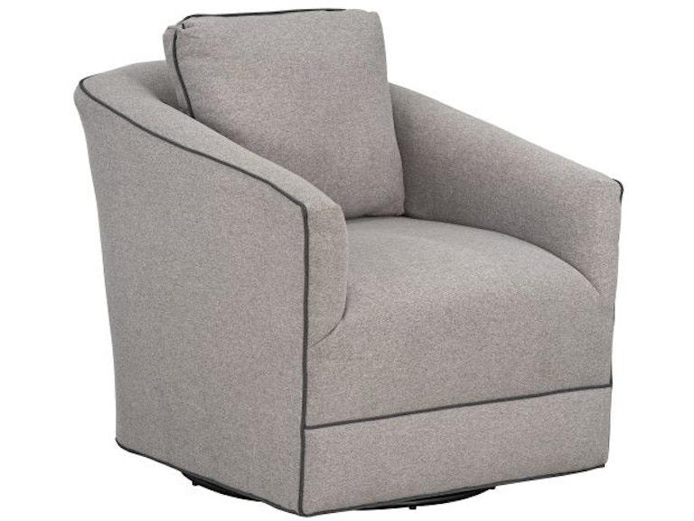Standard Furniture Living Room Nicolette Upholstered Swivel ...
