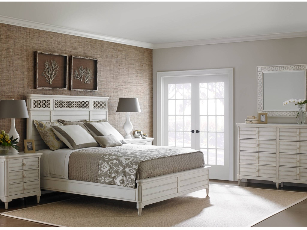 Stanley Furniture Bedroom Wood Panel Bed Queen 451 23 40