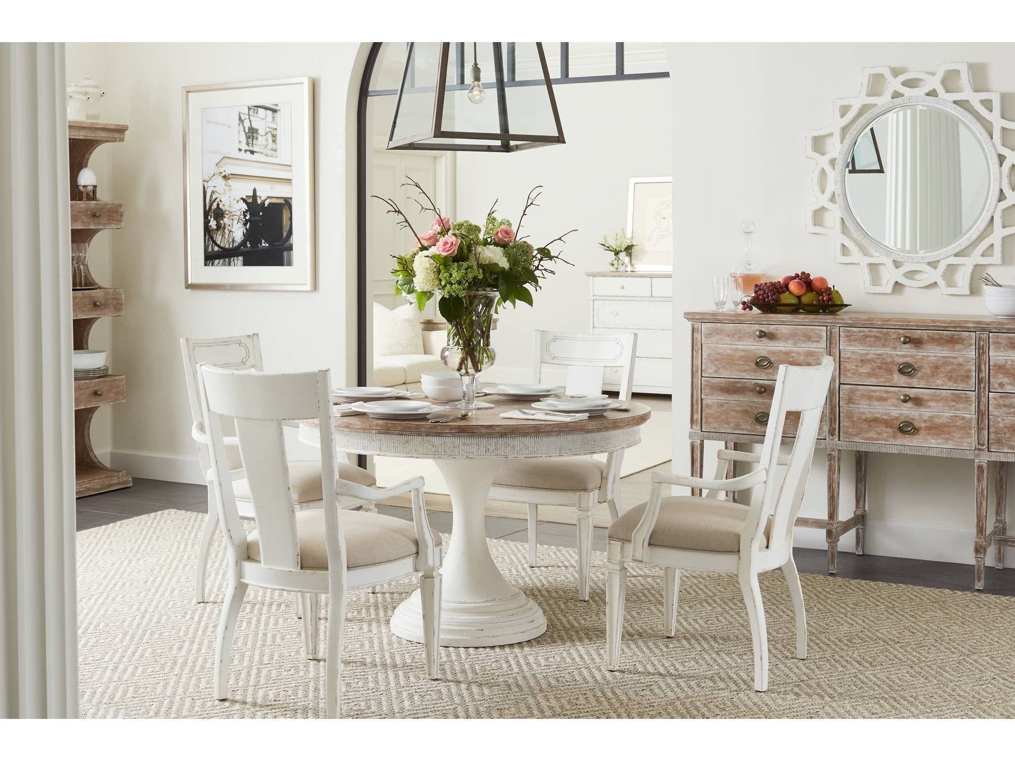 Stanley Furniture Round Dining Table 615 21 30