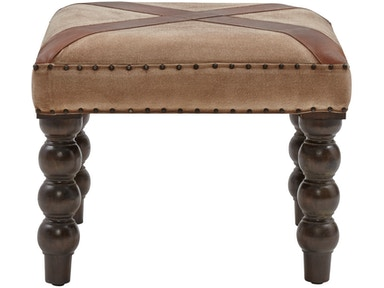 Stein World Tilson Bench In Tan Suede Cloth 13642