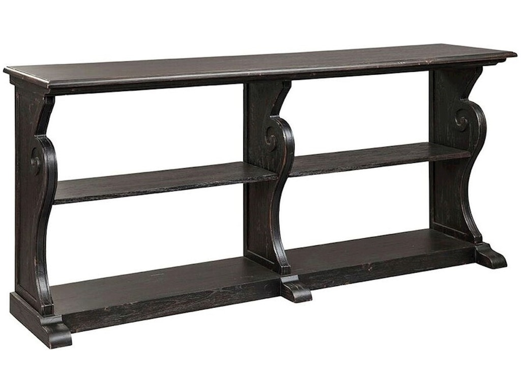 Stein world living room grand canyon long sofa table 16683 at trivetts furniture