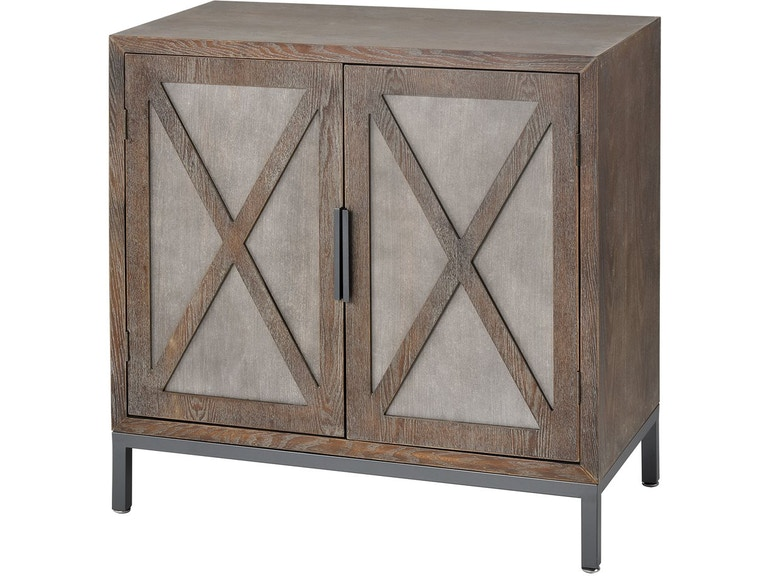 Stein World Living Room Great Platte 2 Door Cabinet 17181 Short
