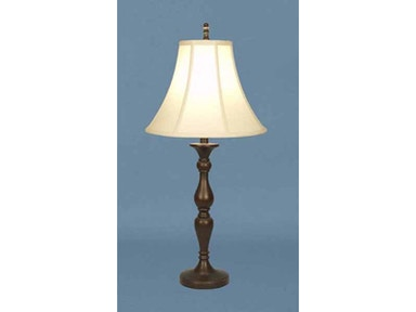 Stylecraft Lamps Table Lamp and Shade 28 inch PT3669 BRONZE WOOD