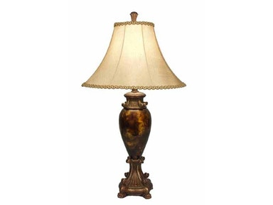 Stylecraft Lamps Table Lamp and Shade 31 inch PT3788 DAUPHINE GOLD