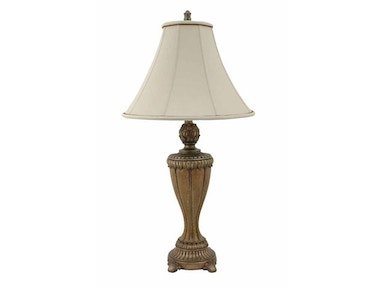 Stylecraft Lamps Table Lamp and Shade 30 inch PT6667 BELAIR