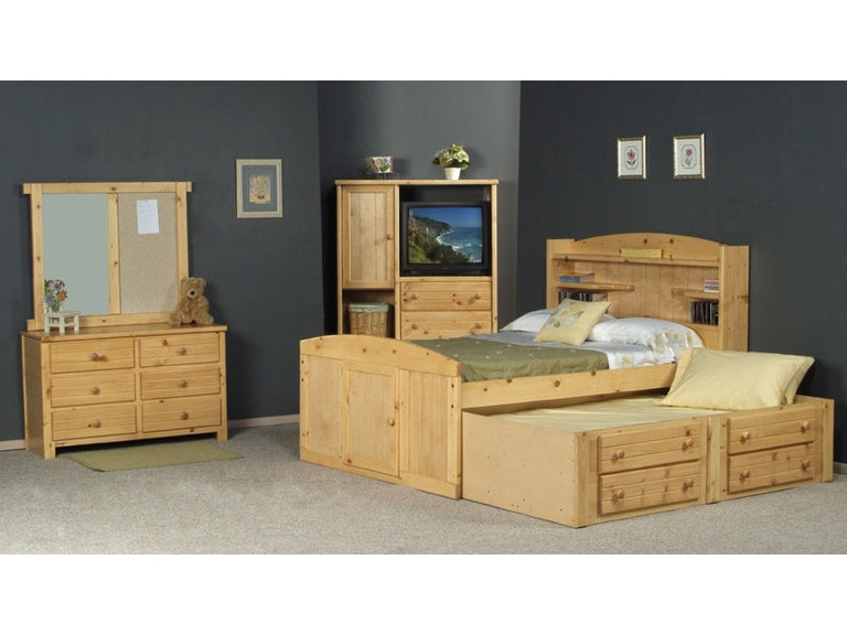 Trendwood Youth Bay View 4 Drawer Under Dresser 4821