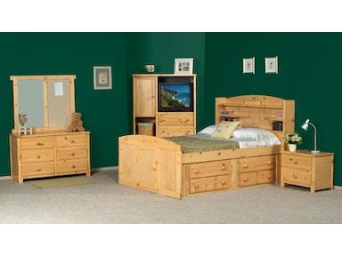 Trendwood Youth Bay View 4 Drawer Under Dresser 4821