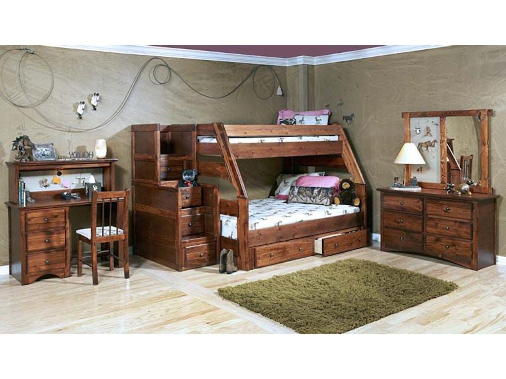 Trendwood Youth High Sierra Bunk Bed Frame 532109043