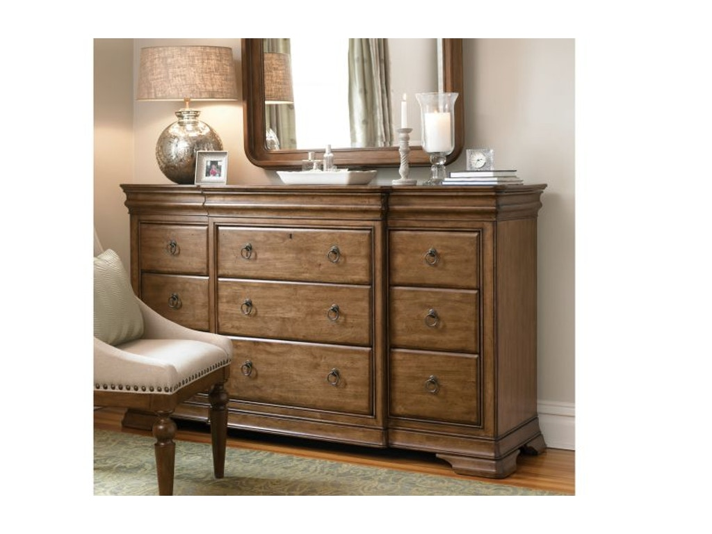 Universal Furniture Bedroom Drawer Dresser 071040 Cherry House Furniture La Grange And