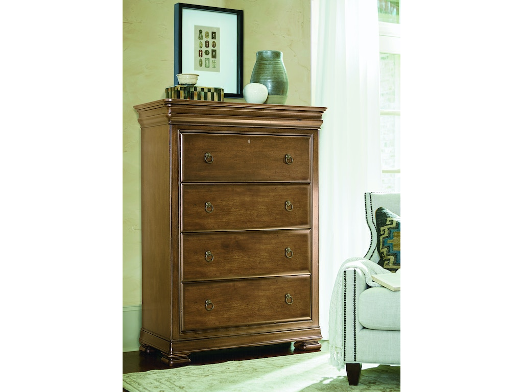 Universal Furniture Bedroom Drawer Chest 071155 Cherry House Furniture La Grange And