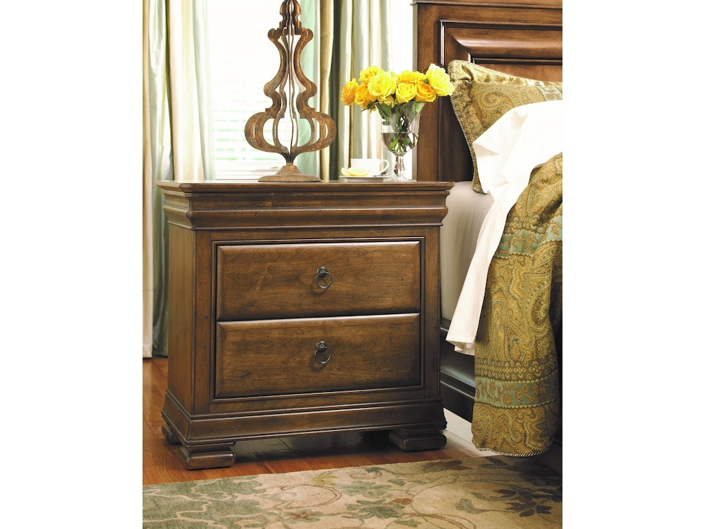 Universal furniture bedroom nightstand a071355 howell for Furniture in beaumont tx