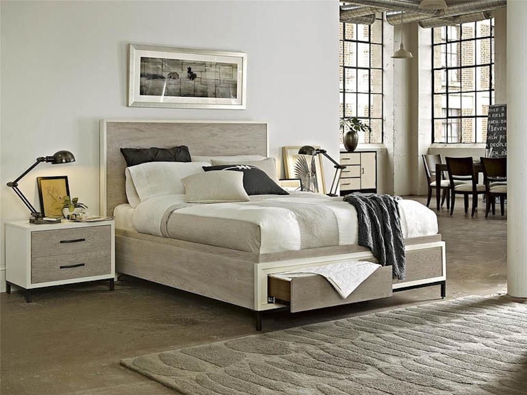Universal Furniture Bedroom Spencer Queen Storage Bed