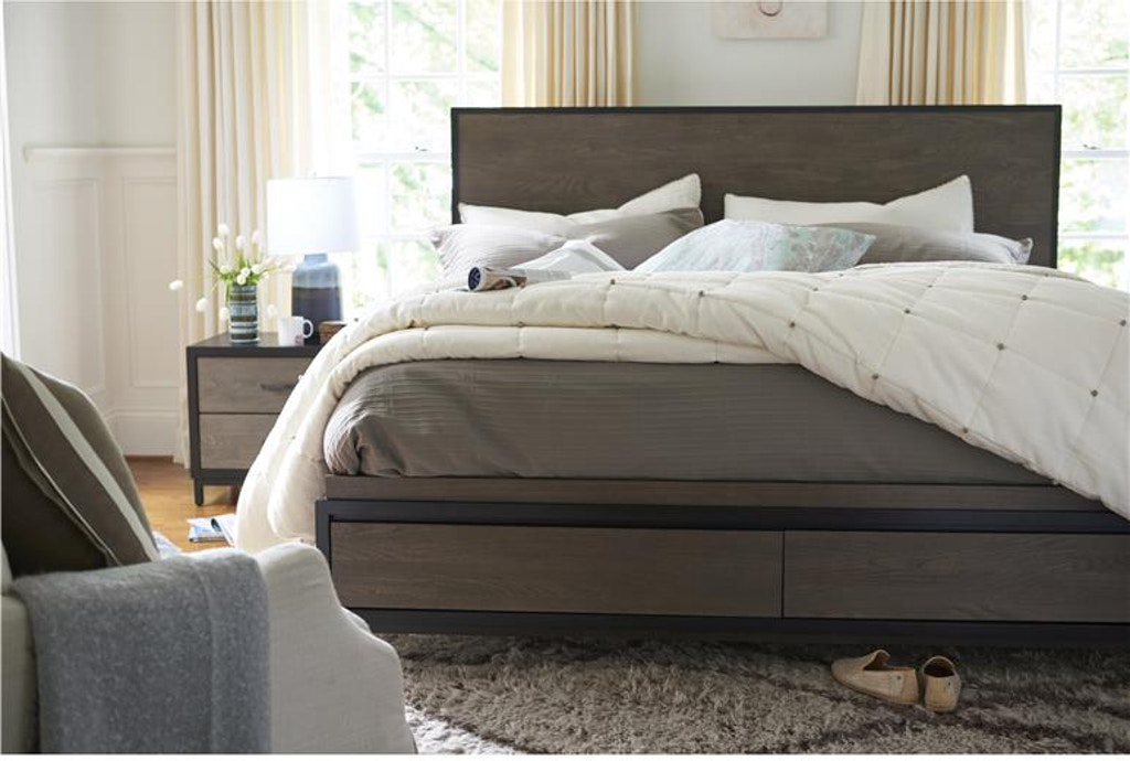 Lacquer Craft Bedroom Spencer King Storage Bed 219a220sb