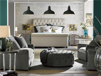 Universal Furniture Bedroom The Boho Chic Queen Bed 45075b