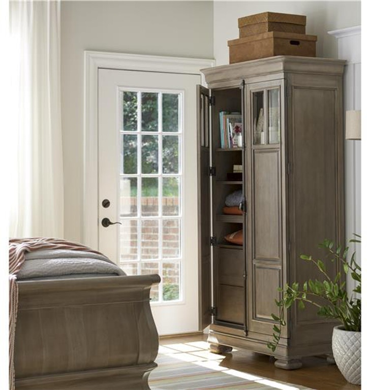 Universal Furniture Living Room Tall Cabinet 581a160