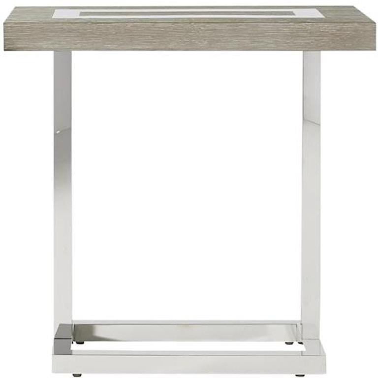Universal Furniture Living Room Wyatt Chair Side Table ...