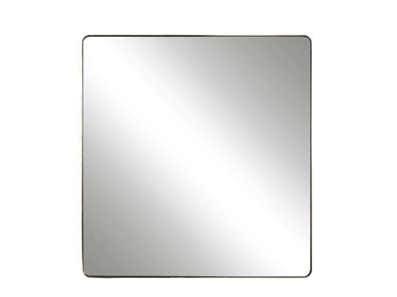 Accent Mirror Brushed Brass
