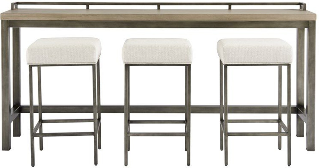 Pleasing Mitchell Console Table With 3 Stools Gmtry Best Dining Table And Chair Ideas Images Gmtryco