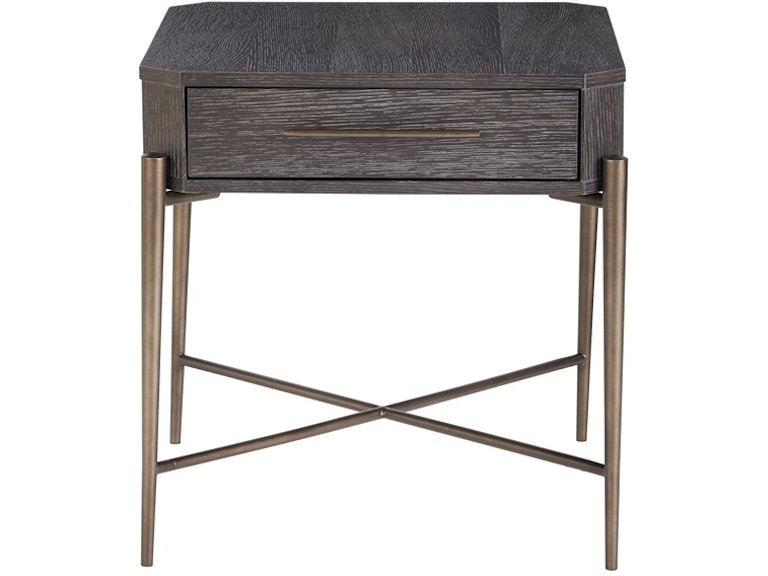 Universal Furniture Living Room Oslo End Table 915a802 Stacy
