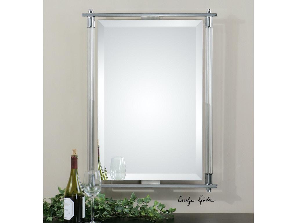 uttermost adara vanity mirror 01127 - Bathroom Mirrors Fort Worth Tx