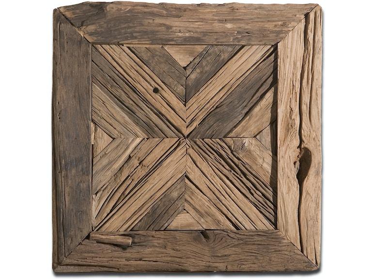 Uttermost Rennick Reclaimed Wood Wall Art 04014