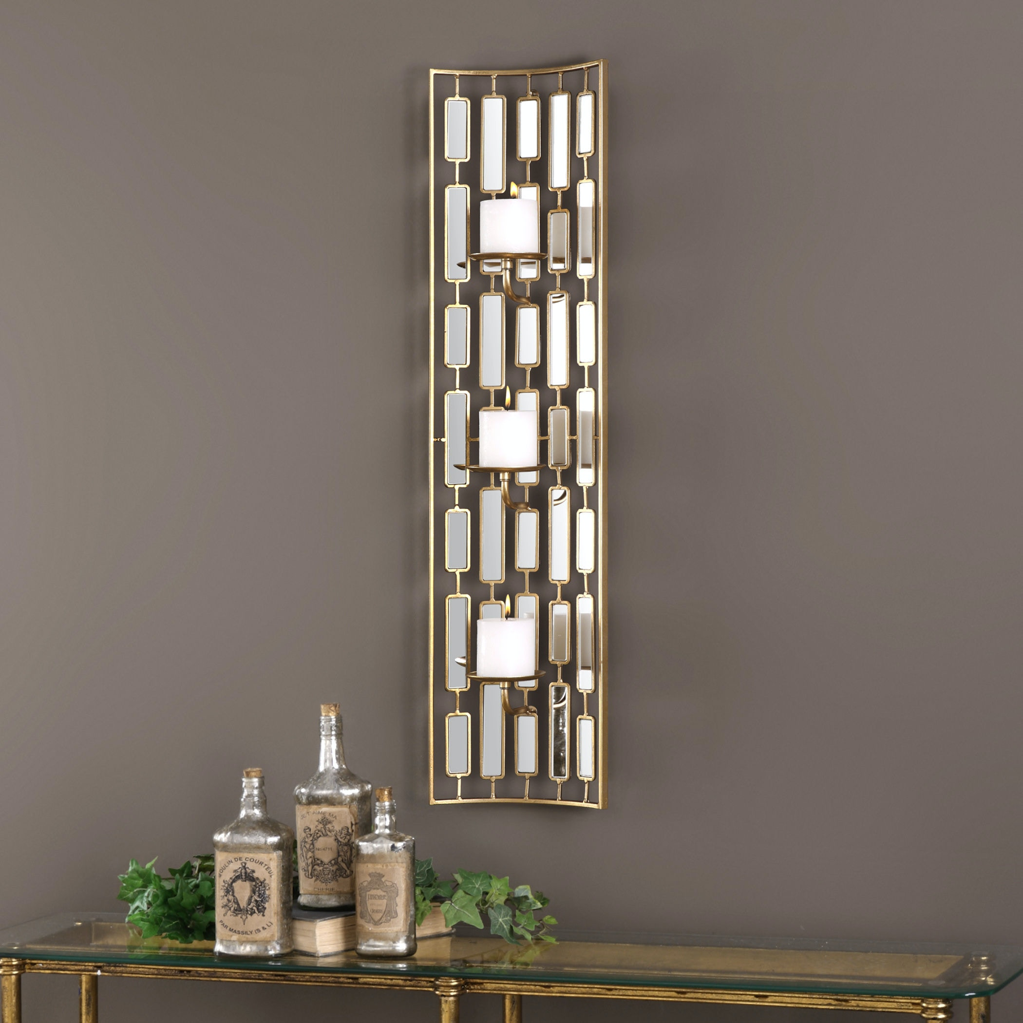 Uttermost Accessories Loire Mirrored Wall Sconce 04045