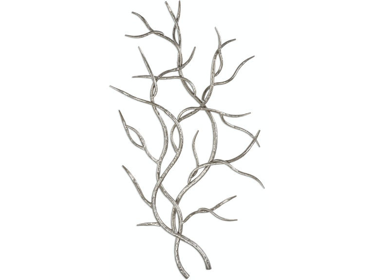 Uttermost Accessories Silver Branches Wall Art S/2 04053 - Room to ...