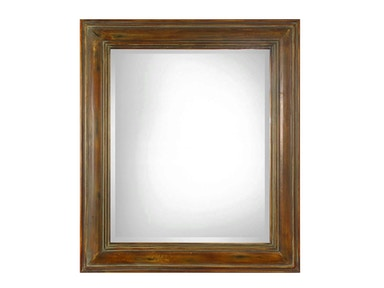 Uttermost Darian Dark Brown Mirror 07016