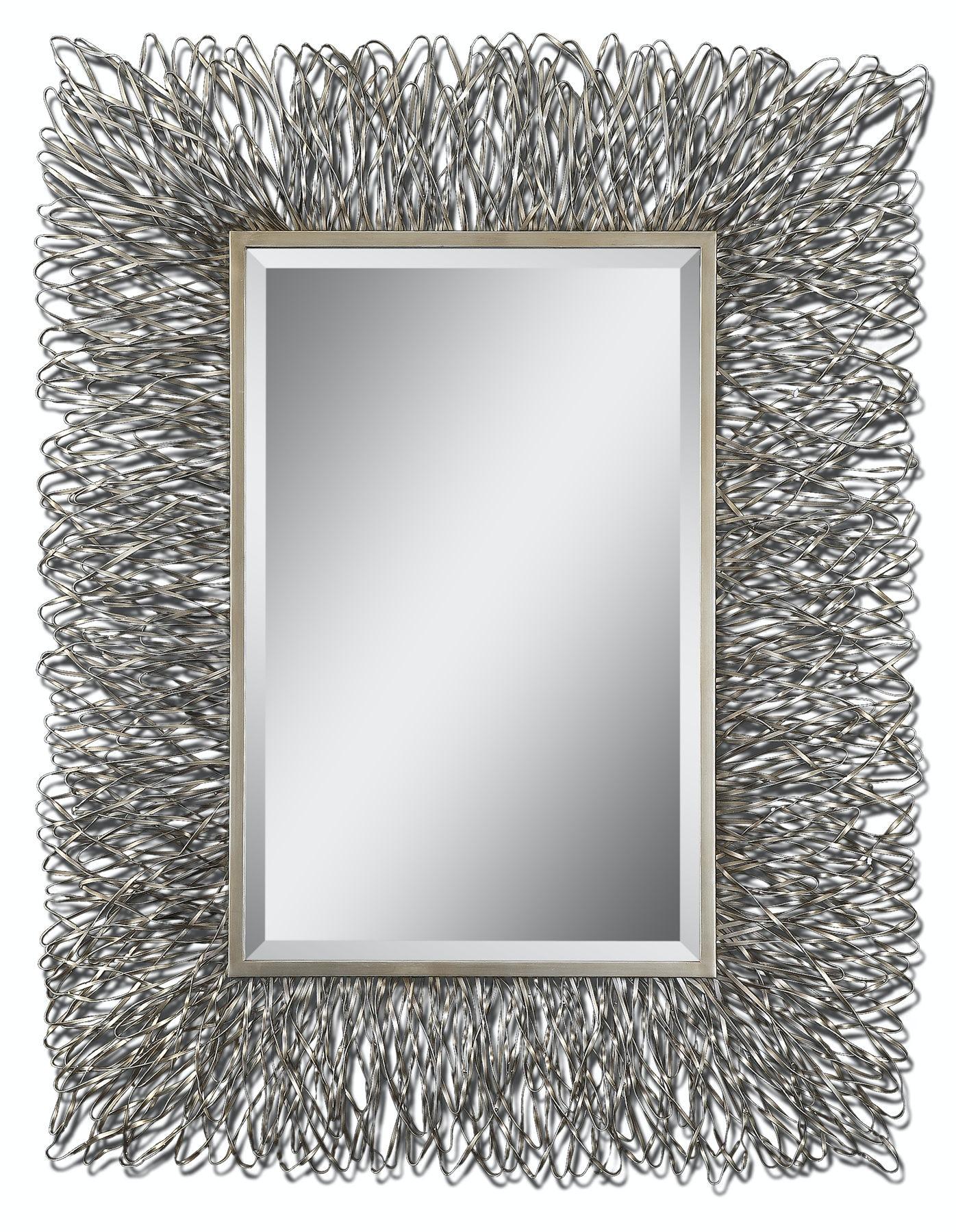 uttermost corbis decorative metal mirror ut07627 from walter e  smithe furniture   design corbis decorative metal mirror ut07627  rh   smithe