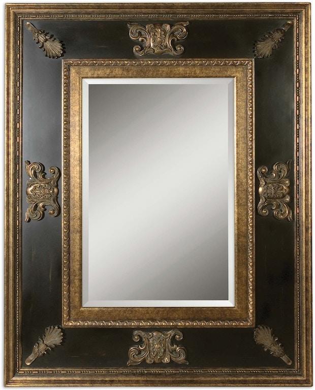 Cadence Antique Gold Mirror Ut11173b