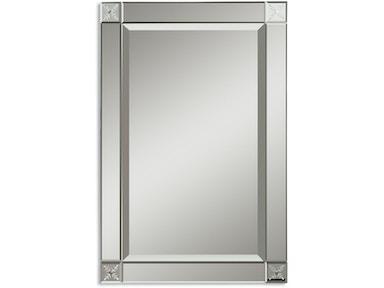 Uttermost Bedroom Emberlynn Frameless Mirror 11914 B Isaak S Home Furnishings And Sleep Center