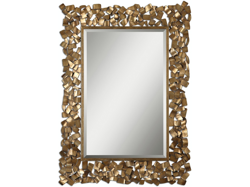 Uttermost Accessories Capulin Antique Gold Mirror 12816