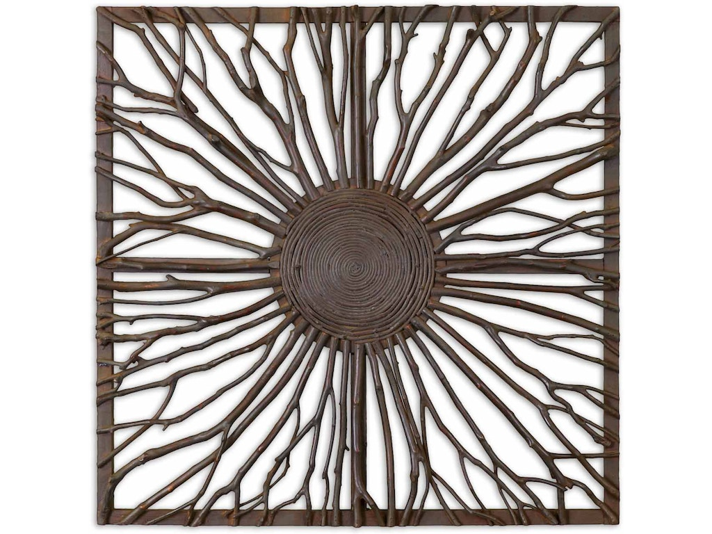 Uttermost Accessories Josiah Square Wooden Wall Art Ut13777 Walter E Smithe Furniture Design