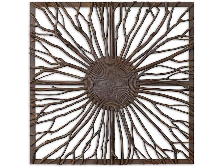 uttermost accessories josiah square wooden wall art