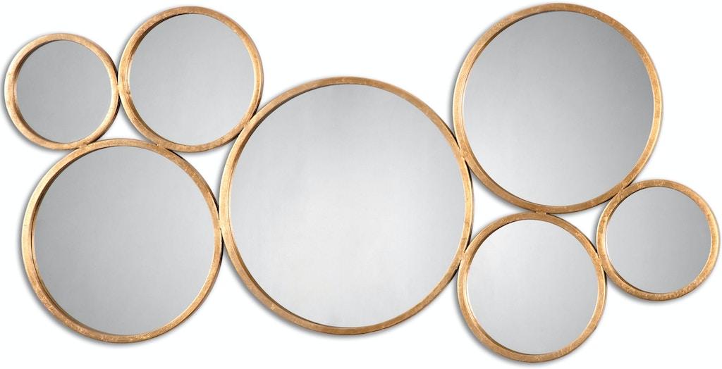 Uttermost Accessories Kanna Gold Wall Mirror 13934 - Sit 'n