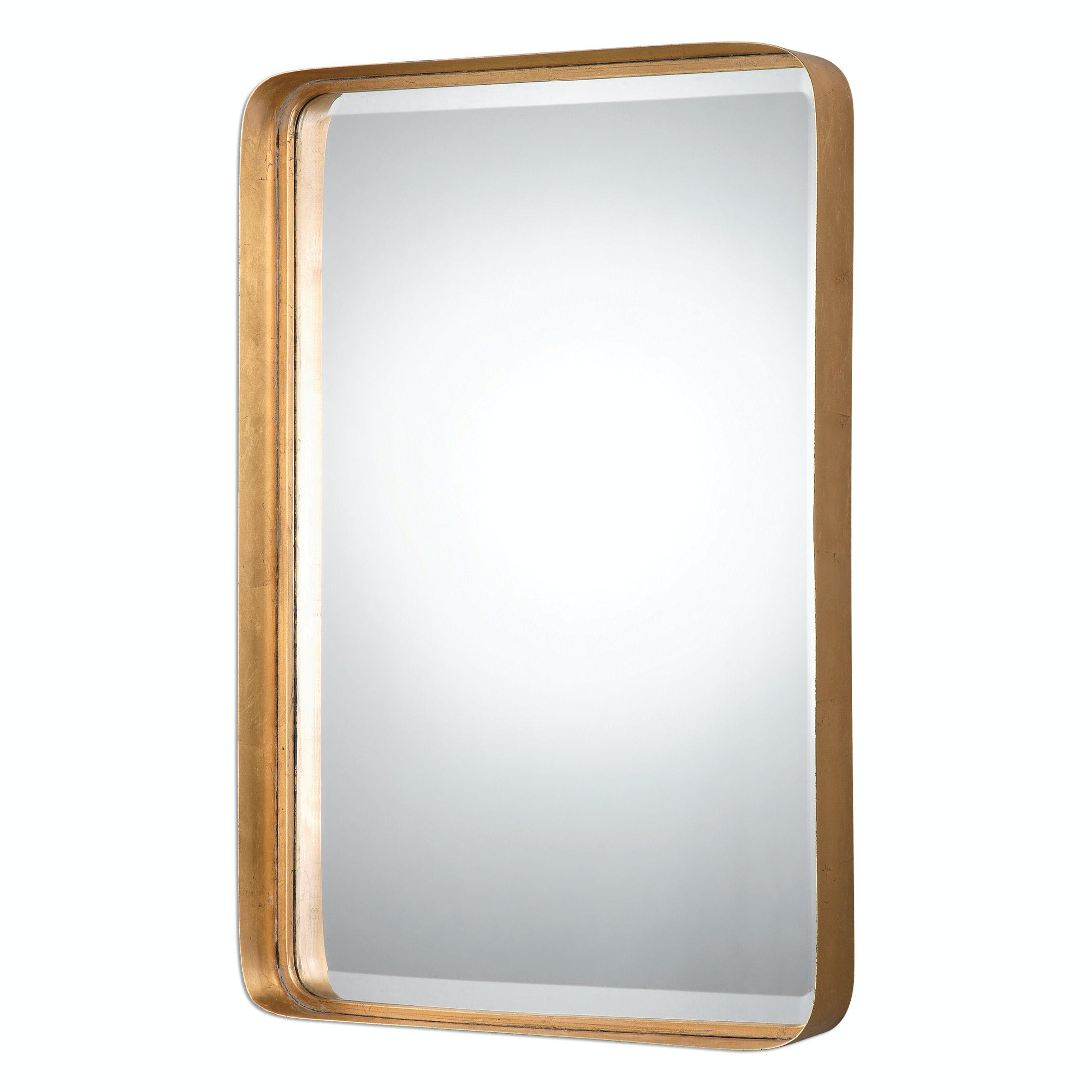 Crofton Antique Gold Mirror Ut13936