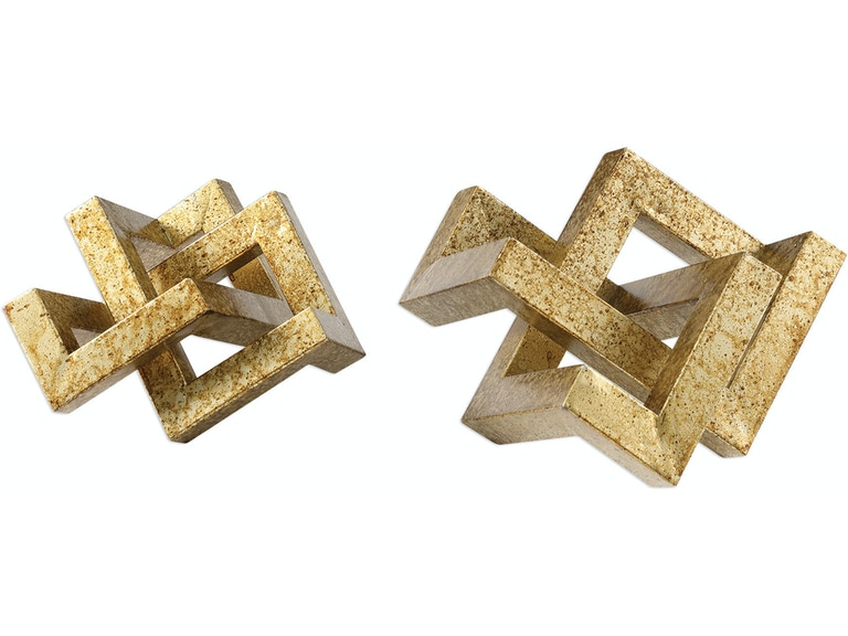 Uttermost Ayan Gold Accents, S/2 18927