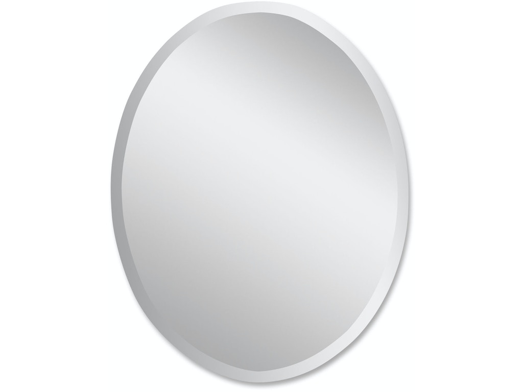 Uttermost bedroom frameless large oval mirror 19590 b for Oval mirror canada