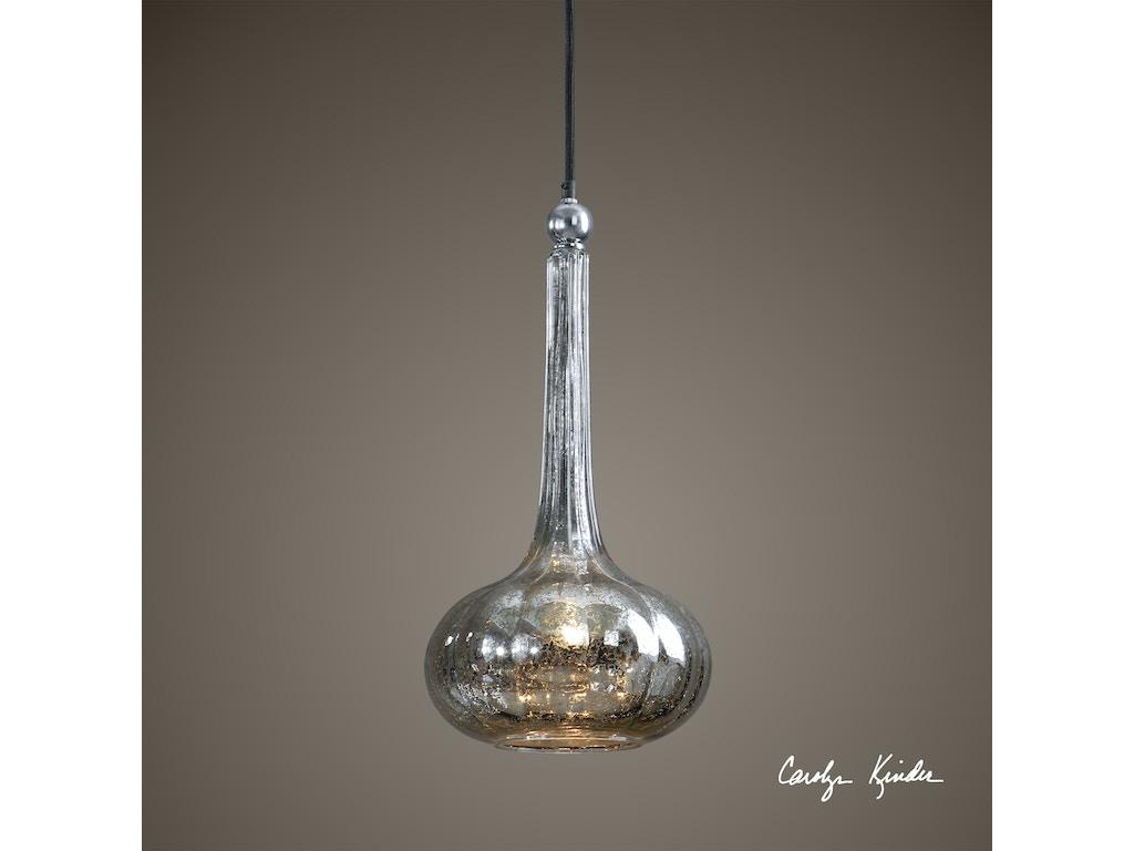 Uttermost Lamps And Lighting Oristano 1 Light Mini Pendant