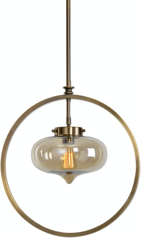 Uttermost lamps and lighting namura 1 light brass mini pendant 22116 uttermost namura 1 light brass mini pendant 22116 aloadofball Image collections
