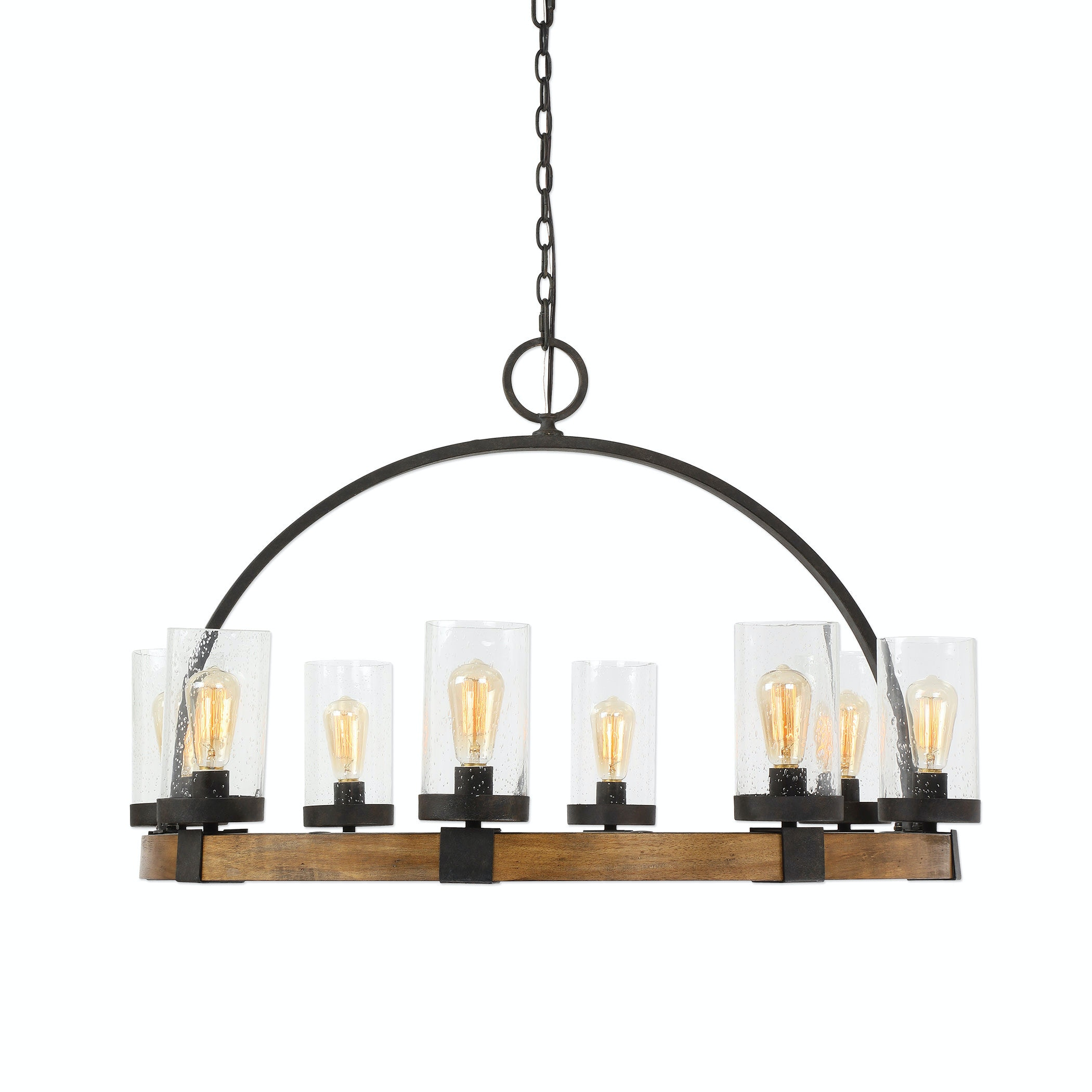 Bob Wire Atwoods Center Wiring Diagrams For A Ceiling Fan And Light Kit Do It Caroldoey Uttermost Lamps Lighting Atwood 8 Wagon Wheel Pendant Rh Bobmillsfurniture Com