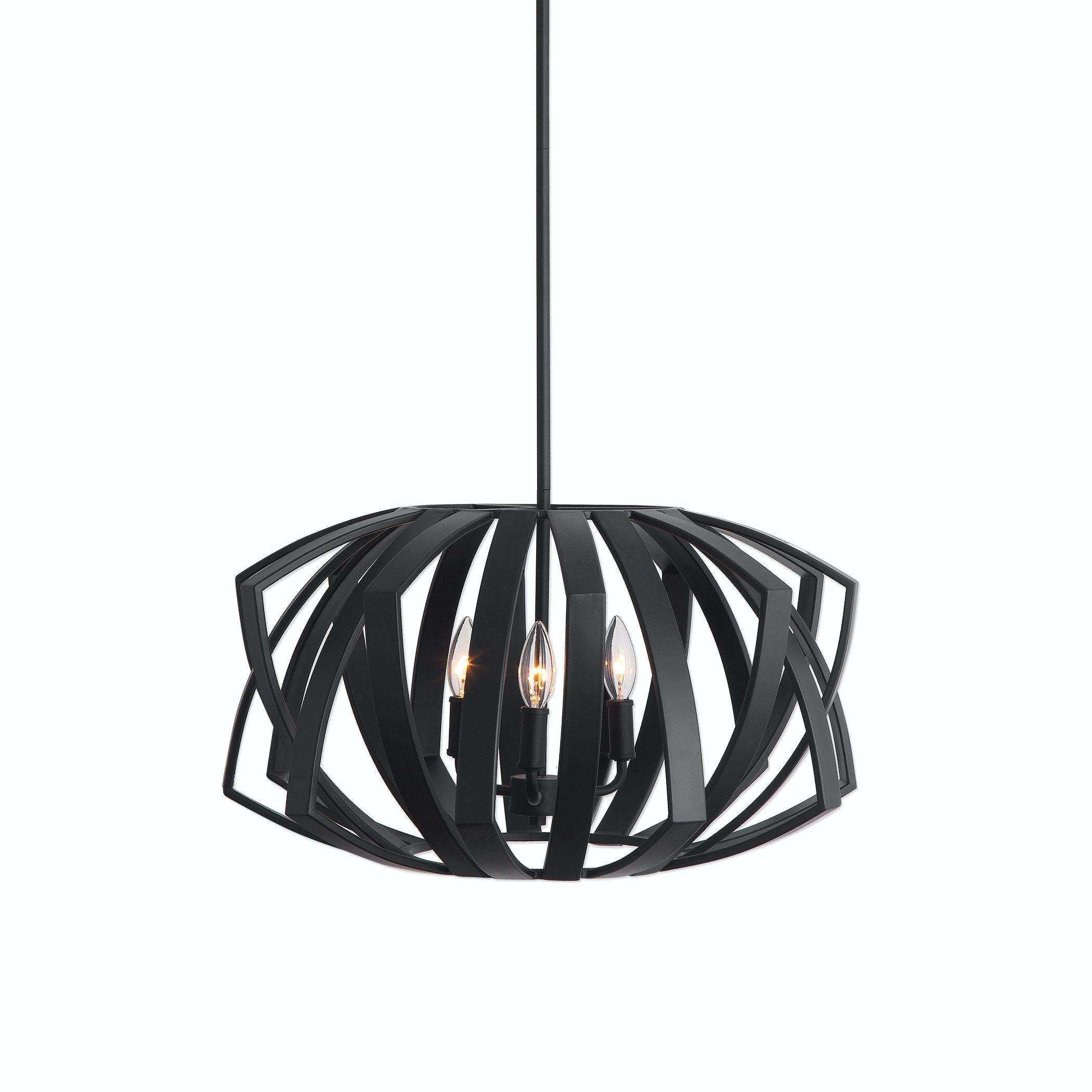 uttermost lighting pendant uttermost 21154 uttermost thales black geometric light pendant 22137 lamps and lighting