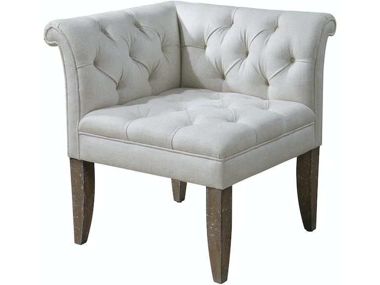 Living Room Corner Chairs: Uttermost Living Room Tahtesa Corner Chair