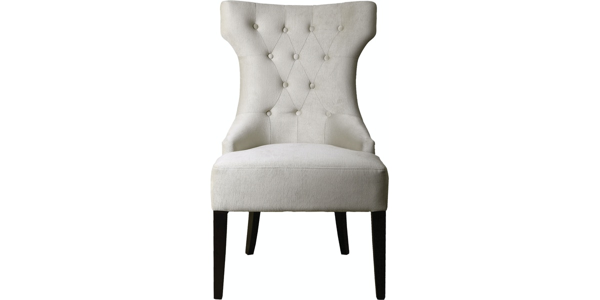 Uttermost Arlette Tufted Wing Chair Ut23239 From Walter E Smithe Furniture Design